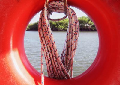 Канат полиэтиленовый плетеный