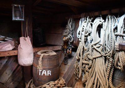 Pintos lininės virvės